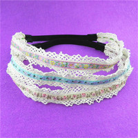 manufacture high quality baby crochet headband with flower