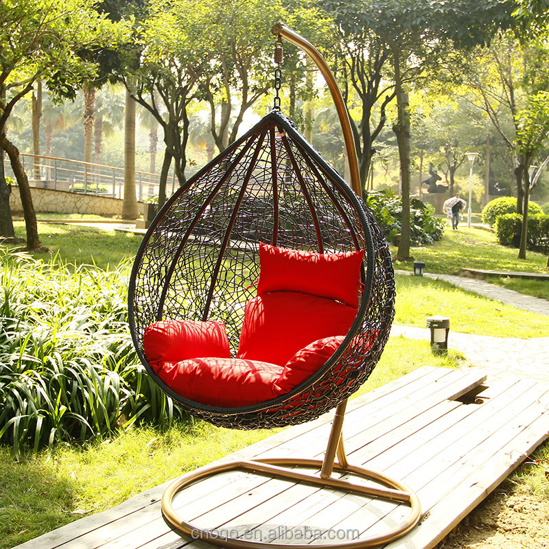 Leisure Outdoor / Garden Furniture Hanging Egg Chair Patio Swing D011#