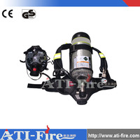 Scba Equipment For Fireman Oxygen Breathing Apparatus