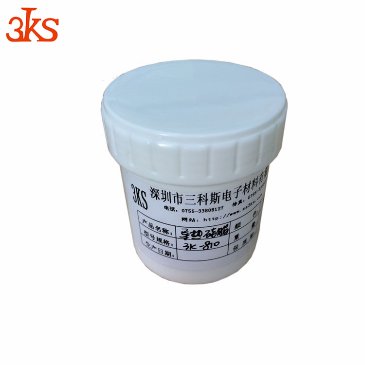 White/Gray color conductive hot sale best price For PCB/CPU/LED silicone sealant car