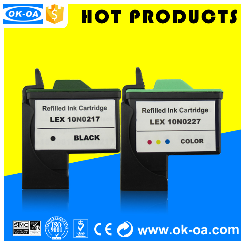 You will get our bulk ink as a gift to buy refillable printer ink cartridge 10N0217(LM17)/10N0227(LM27) for lm ink cartridges