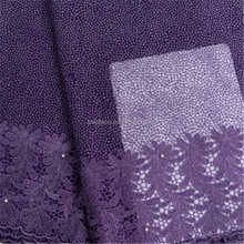 Nigerian top selling new tulle lace fabric polyester french lace bangkok lace fabric
