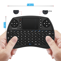 Fashionable Design Abs Plastic Black Mini Keyboard Touch Pad For Xbox360