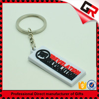 Promotion cheap reflective pvc key chains
