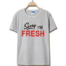 2016 Mens T shirts Fashion Fresh Printed T Shirt Men Cotton 100% Men's Short-sleeves T-shirt