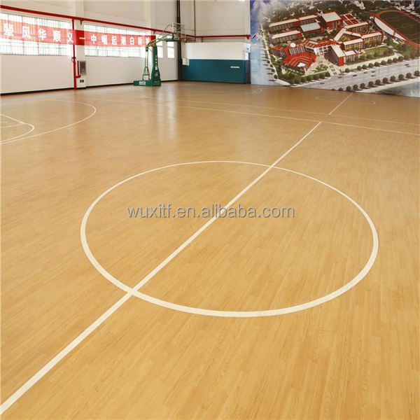 Popular easy to clean garage indoor basketball court flooring for sale
