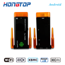 Best tv stick android mini pc Quad Core 2+8G WIFI RK3229 J22 Android TV Dongle