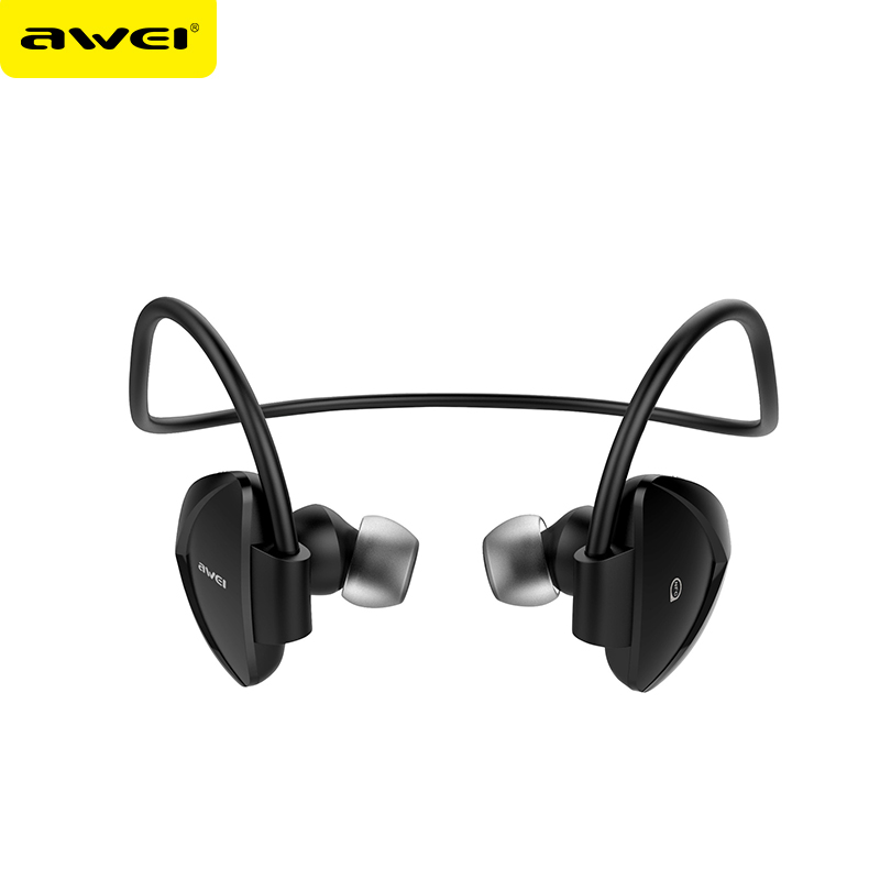 New Arrivals 2017 AWEI A840BL Sweat Resistant Sport Wireless Bluetooth Ear Phone Mobile
