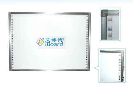 Infrared smart interactive whiteboard with the best OEM price of interactive whiteboard built-in educational software