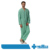 Soft Fashion Wrap-around Durevole manica Corta Hospital Patient Gown