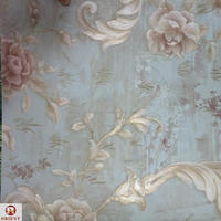 Commerce Usage PVC Waterproof Wallpaper Decoration