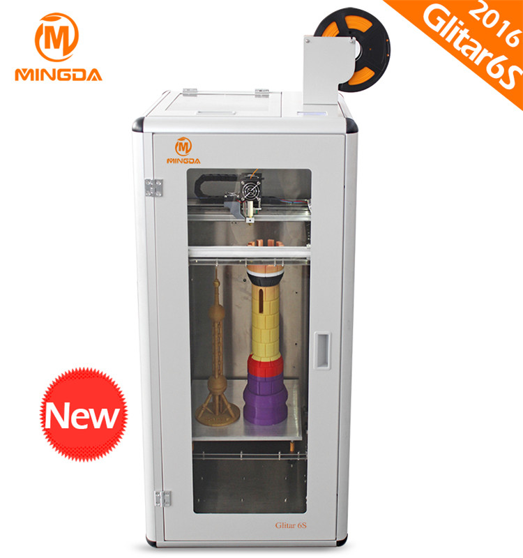 Chinese Pioneer Manufacturer Supplies 1.75mm PLA Filament 3D Printer Build Size 300*300*600mm MINGDA MD-6S Industrial 3D Printer