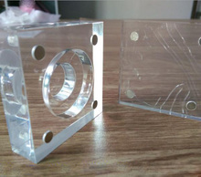 Clear Square Transparent Acrylic Coin Display Frames Holder Stand