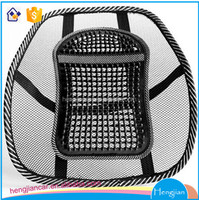 Air Cooling Polyester Mesh Office Chair Car Seat Back Waist Lumbar Support Cushions