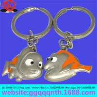 novelty boarding surfing swimming dolphin beach keychain