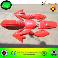 CRF type plastic kits/ Dirt bike parts of fairing plastic kits TDR-PA001