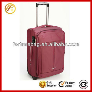 Top grade and new style city luggage trolley bag