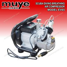 service&pupolar portable scuba diving breathing air compressor EV65 model