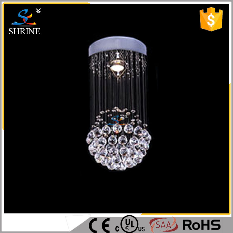Mini Crystal Ball Chandelier Lamp Fixture in Zhong shan Lighting Model:SC7001-1L