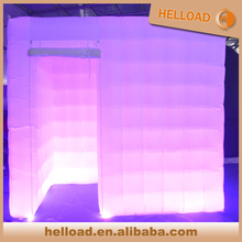 custom make large display led inflatable cube tent for decoration