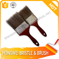Cleaning to wall brush paint