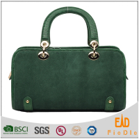 N972-B2101 chic brand OEM supplier Luxury suede leather fashion bolsos handbags ladies 2016