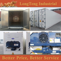 Brand new 10ft 20ft 40ft refrigerated container parts for sale