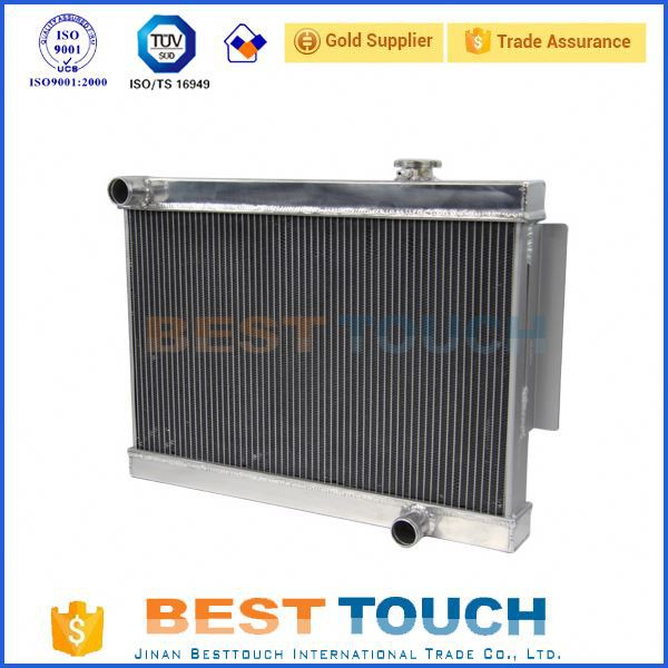 3 ROW LANDCRUISER 40 SERIES HJ45 HJ47 2H Diesel cooler auto cool radiators for TOYOTA for truck