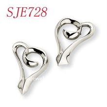 Wholesale high polish stainless steel searring