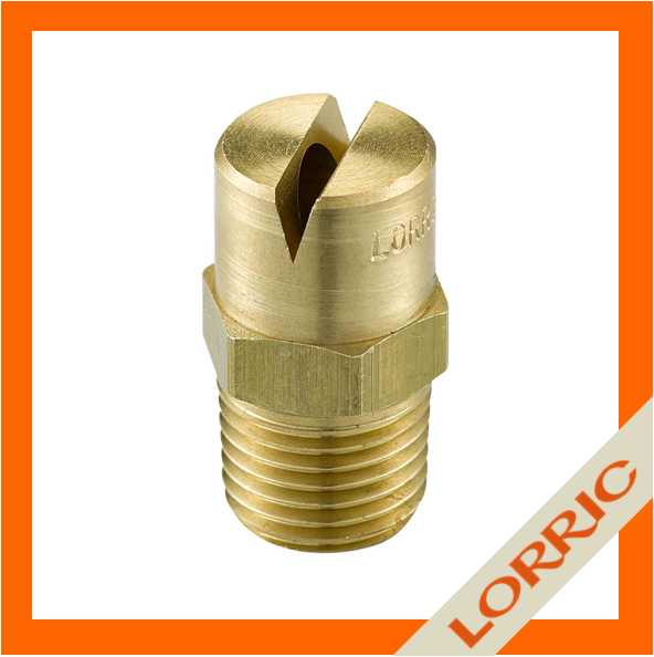 Car Wash Flat Fan Brass Jet Spray Nozzle