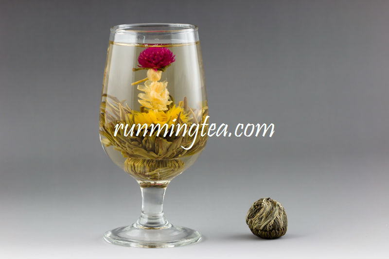 Qing Tou Yi He Red Amaranth's Affection Flowering Tea