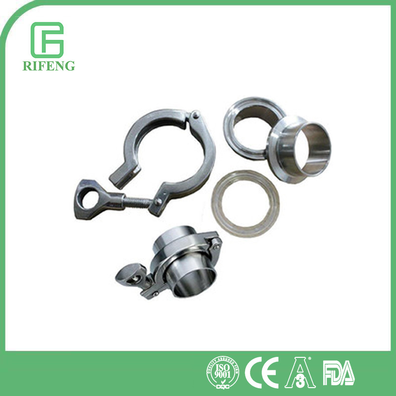 Heavy Duty Sanitary Stainless Steel Tri Clover Clamp Fitting