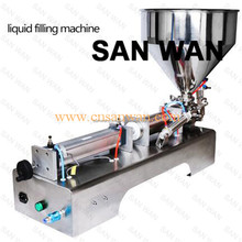 New brand 2017 cosmetic cream automatic filling machine Air conditioning pipe