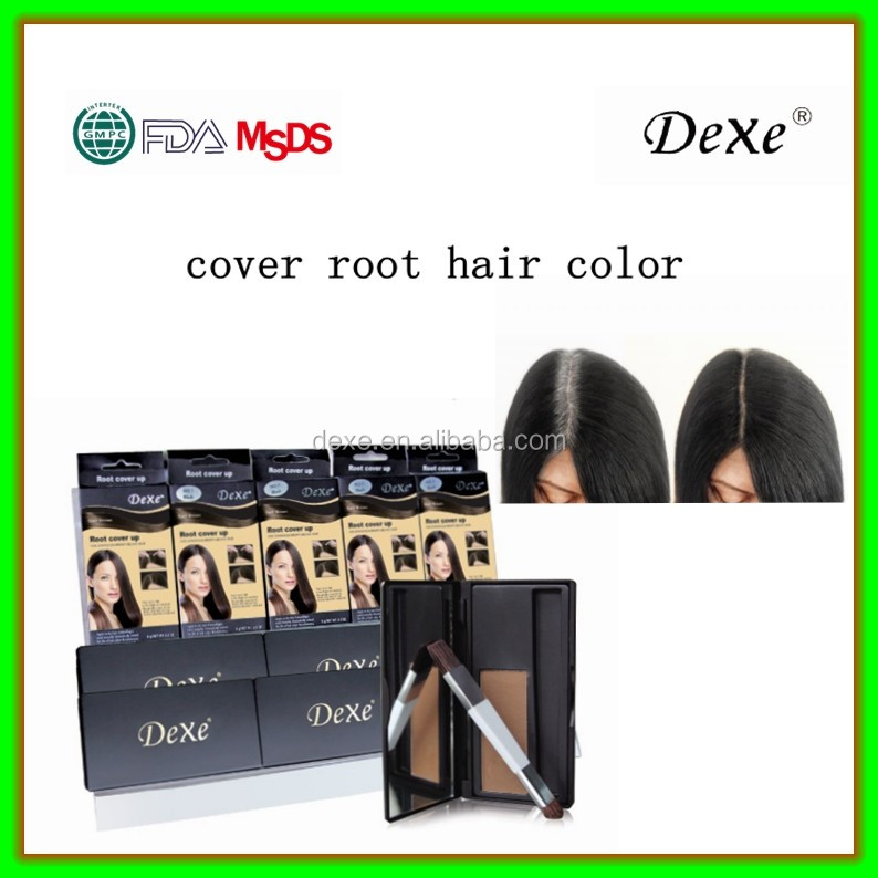 Hair color root hair touch-up lipstick style organic root cover up root cover up powder
