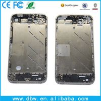 White Middle Frame Mid Chassis Bezel Full Assembly for iPhone 4S