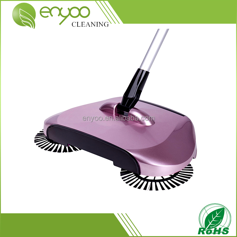 2017 new arrival 360 rotary home use magic manual telescopic floor dust sweeper as seen on TV
