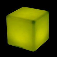 Made in China waterproof RGB full color led glow cube lighting for pool decoration