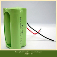 nimh 1.2v aaa 400mAh Rechargeable Battery/cell for toys,vacuum cleaner