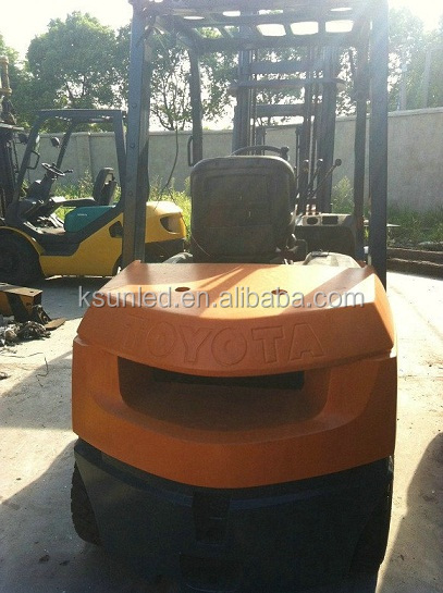 Used 3 ton cheap toyota forklift FD30 for hot sale in china shang hai