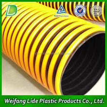 pvc spiral/helix/ corrugated suction hose pipe tube