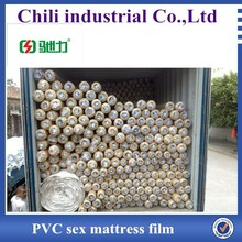light normal clear pvc film