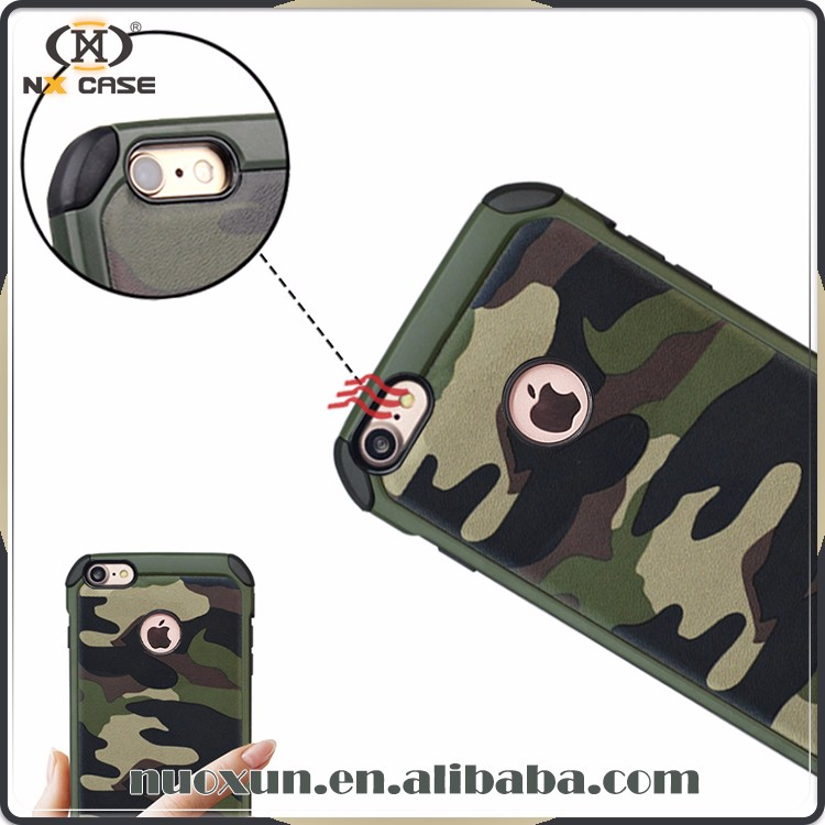 2017 Hot sale camouflage style for i phone7 case