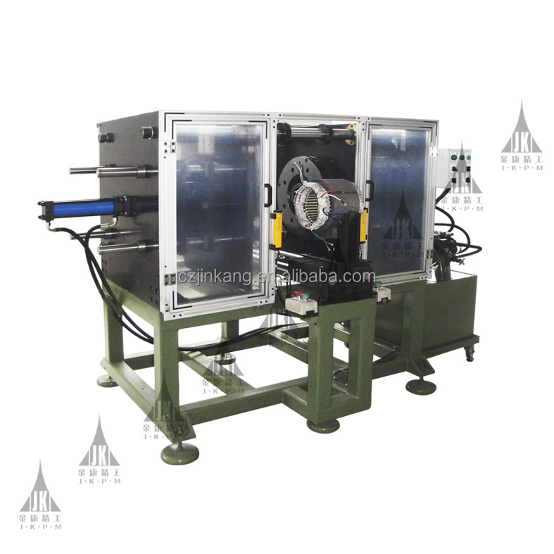 Electrical motor stator coil winding final forming machine for big motor stator enamelled copper wire aluminum wire
