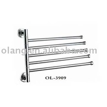 Bathroom accessories- movable towel bars
