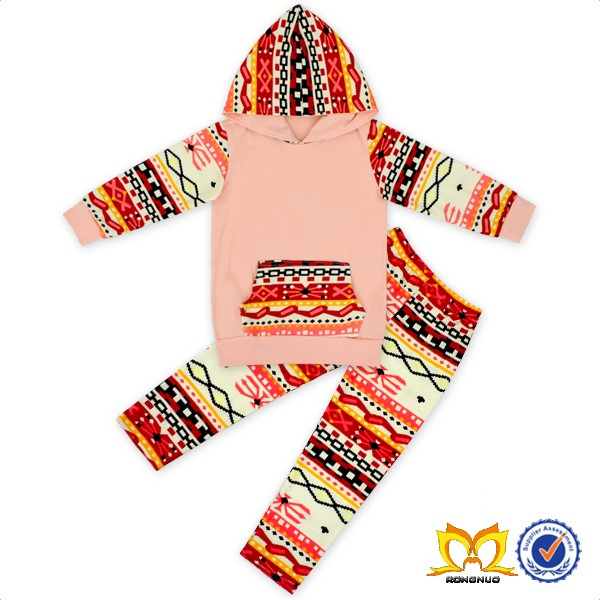 2016 Fall Childrens Boutique Cotton Sweater Clothing Girls Brown Thanksgiving Turkey Sets Thanksgiving Boutique Outfits