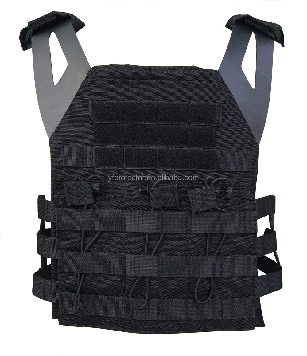 Tactical body armor for plate