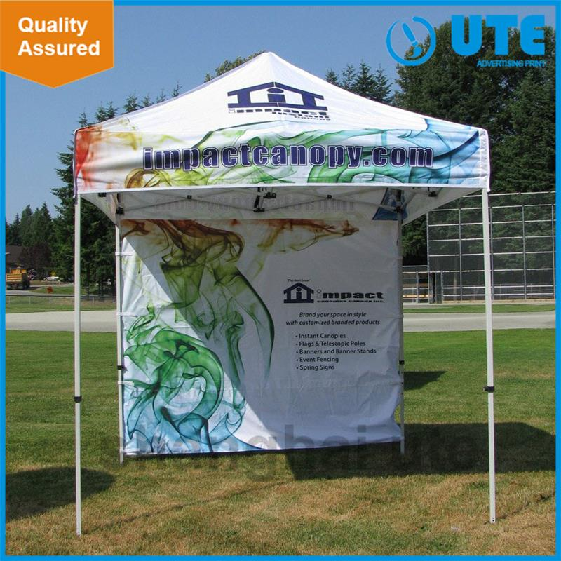 2016 New products Cheap custom printed large promotion custom canopy