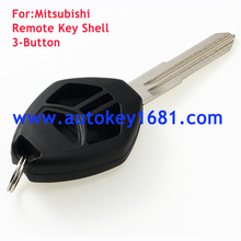 car remote key shell case for mitsubishi 3button key cover