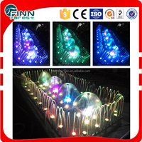 indoor ourdoot 2*4m decoration Led light small mushroom indoor water fountain