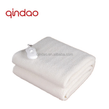 Comfortable Polar Fleece Electric Heated Blanket in Blanket with Over Heat Protection